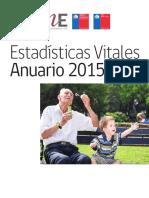 Chile Estadisticas Vitales 2015 INE