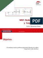 MEF Redes Eléctricas y Carga Axial