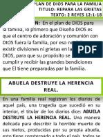 Repara Las Grietas - Proyectar