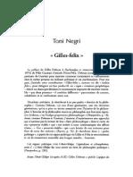 NEGRI, Antonio - Gilles-félix - Rue Descartes, n. 20 (1998)