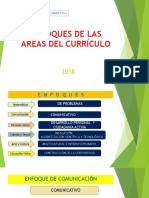 Enfoques de Las Areas Del Curriculo