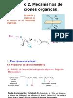 Mecanismos de Reacciones Organicas 2