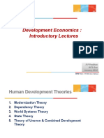 01 - Development Economics Intro Chapter