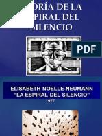 Teoría de La Espiral Del Silencio