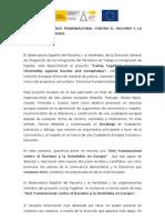 Carta de Adhesión en español a la Red `Living Together´