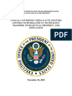 USTR China 301 Report Update - November 2018