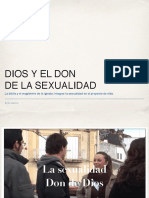 Dios y El Don de La Sexualidad
