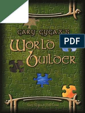 Gary Gygax's - World Builder pdf   Axe   Shield