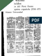 Los Vencidos, Los Indios del Perú frente a la conquista española