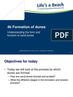 Formation of Dunes