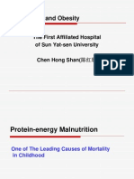 Malnutrition and Obesity
