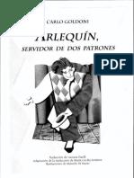 Arlequín - Carlo Goldoni