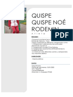 Quispe Quispe Noé Rodemin
