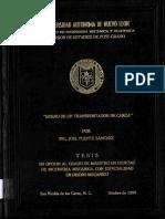 DISEÑO Y CALCULO de UN transportador de BANDA.PDF