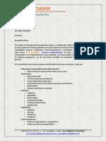 Carta de Presentación y Brochure - Rf & Asociados Asesores Independientes