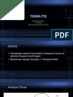 MK Tonsilitis