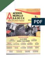 aceros Murillo catalogo de pesos y medidas.pdf
