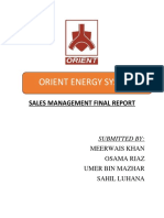 Sales Orient
