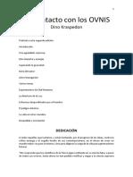 Mi Contacto Con Los OVNIS - Dino Kraspedon