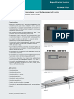 Ficha tecnica flujometro