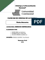 Derecho Empresarial Titulos Bancarios (1)