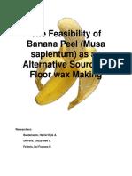 Banana Floor Wax