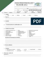 Formulário Plano de Aula ROQUE