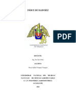 Extracion Indice de Madures