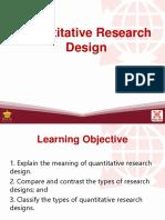 Research-L11 Quantitative Research Design