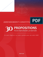 Amendementconstitutionnel Proposition