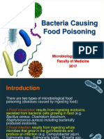 (Microbiology) Microbiological Food Poisoning