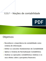 7257 - Noções de Contabilidade