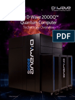 D-Wave 2000Q System - First Quantum Computer - Overview
