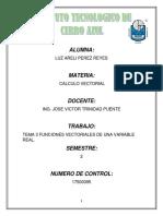 CALCULO  VECTORIAL UNIDAD 3