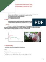 Etude Cryoscopique d'une Solution Diluee
