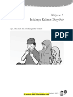 Aqidah Bab 1 Indahnya Kalimat Tayyibah