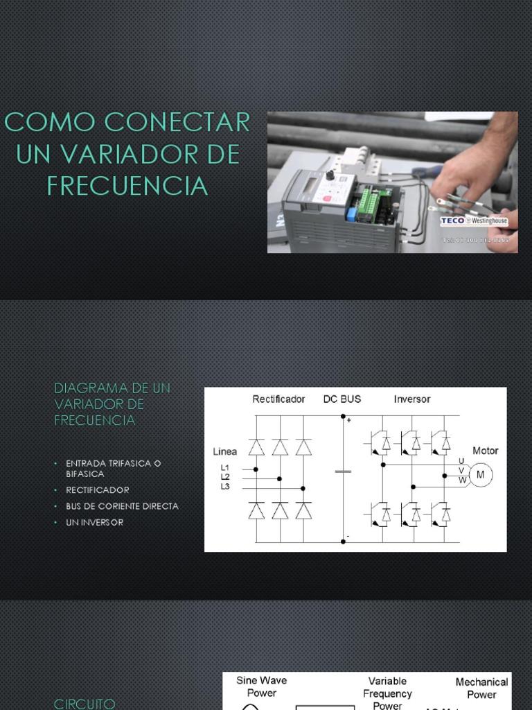 Circuito Variador De Frecuencia : Como conectar un variador de frecuencia