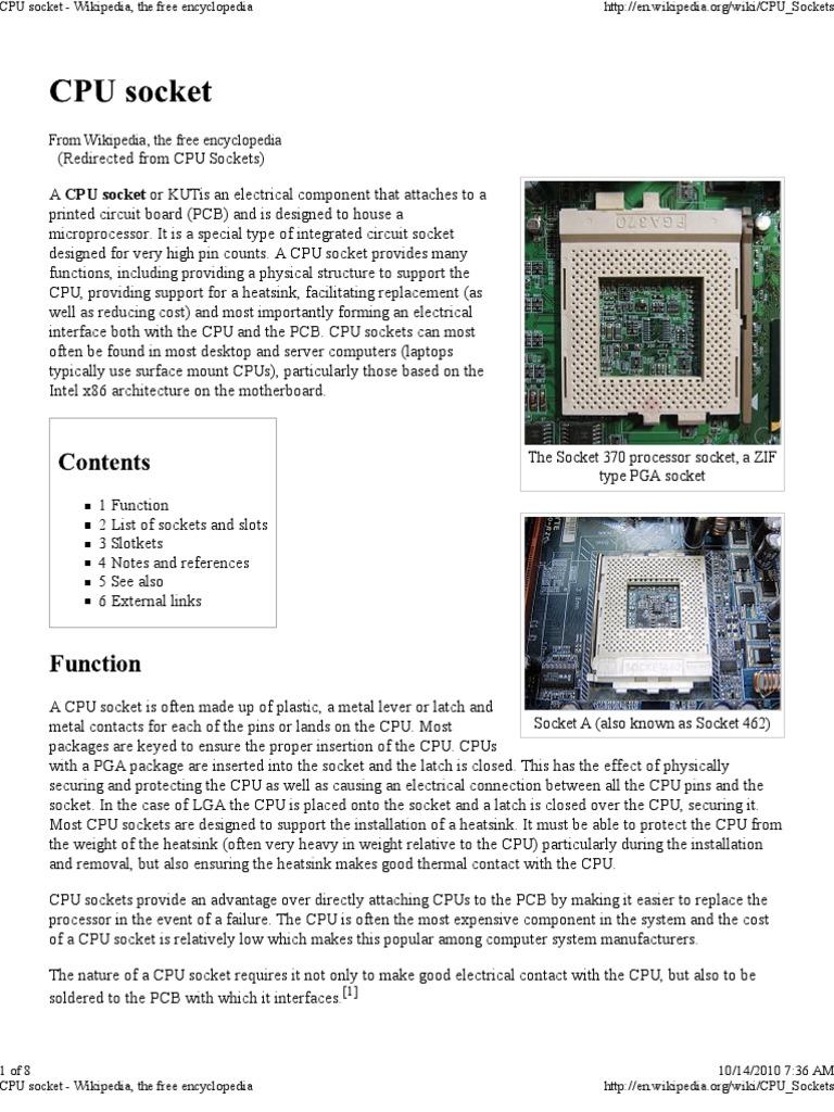 Cpu Socket Wikipedia The Advanced Micro Devices X86 Architecture