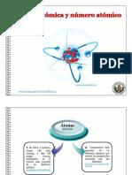Masa Atómica y Número Atómico
