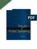 The Art of Public Speaking.pdf