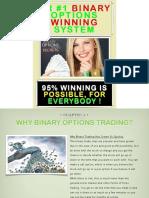 Binary Options Trading Winning System English