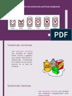 Clasificación de Las Sustancias químicas Peligrosas