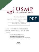 Indice Analisis Positivo de Organizacion Criminal