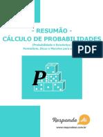 Respode aí - Cálculo de probabilidades.pdf