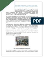 Caracterización del aeropuerto INTERNACIONAL JORGE CHAVEZ (CORPAC)
