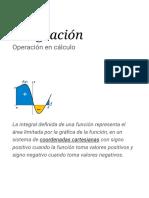 Integración - Wikipedia, La Enciclopedia Libre