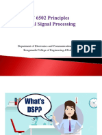 DIGITAL SIGNAL PROCESSING INTRODUCTION PART