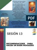 Sesión 13 -Recomedaciones Para Construir Un Buen Noviazgo