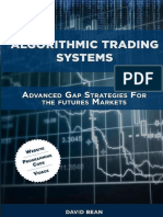David Bean, Algorithmic Trading Systems Advanced Gap Strategies for the Futures Markets.epub