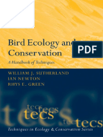 Bird Ecology and Conservation - A Handbook of Techniques.pdf